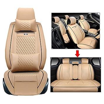 Amazon.com: Funda para asiento de coche, color negro, apto ...