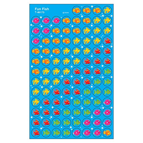 TREND enterprises, Inc. Fun Fish superSpots Stickers, 800 ct ()