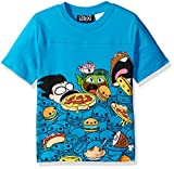Warner Bros. Little Boys' Teen Titans Foodies T-Shirt, Blue, 7