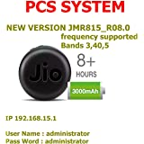 PCS System Jio 4G Hotspot (USB Wired +Wifi Option) (LTE+VOLTE) Supported - Works with Postpaid & Prepaid Simcards
