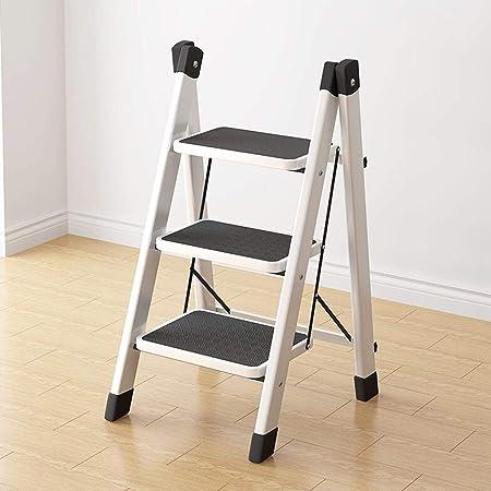 GY Escalera Plegable Pedal de Tubo de Hierro Engrosado Pedal de Hierro de Engrosamiento Interior Silla multifunción Bastidor de Escalera, Tres Alturas Opcional (Size : M): Amazon.es: Hogar