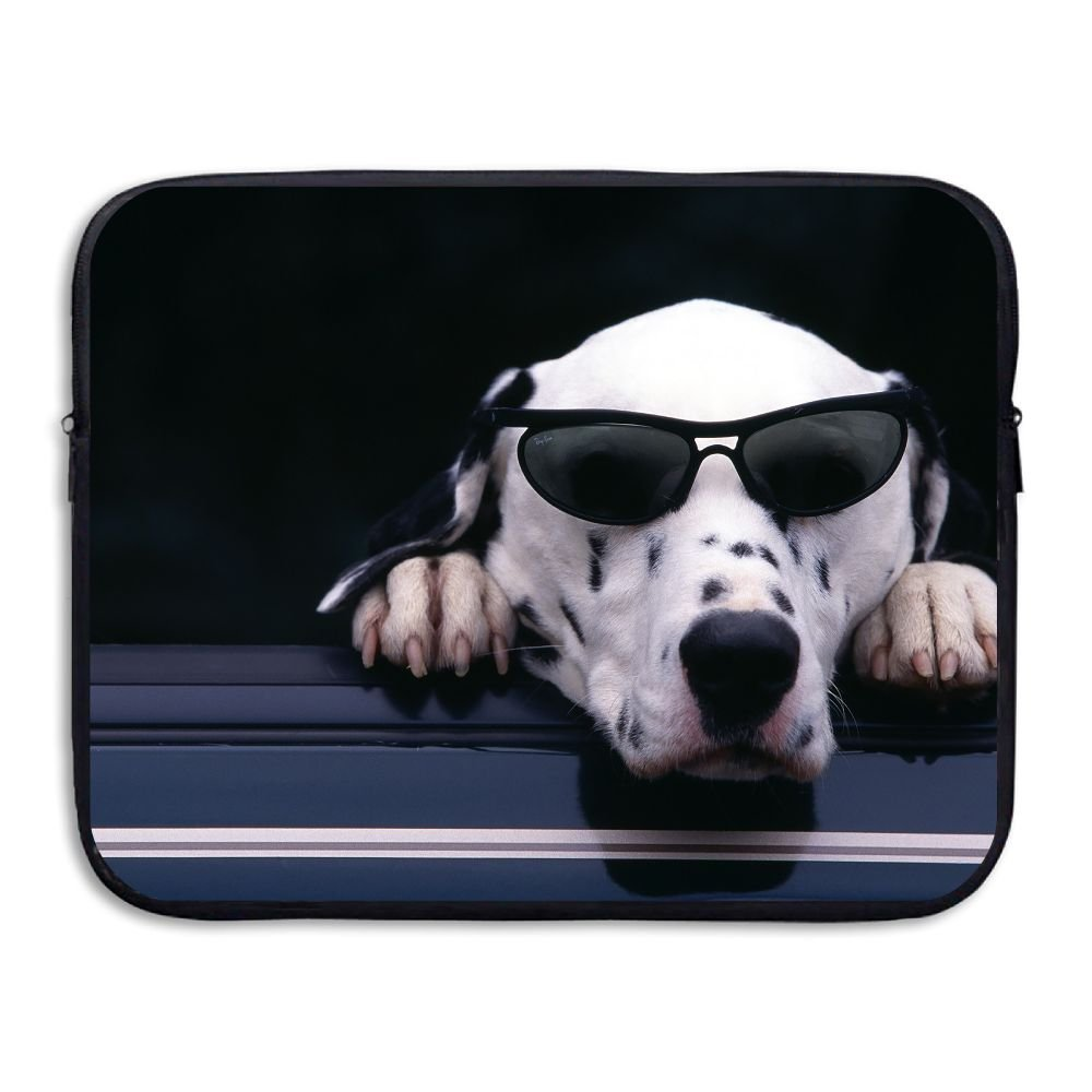 Reteone Laptop Sleeve Bag Sunglasses Dogs Humor Animals Cover Computer Liner Package Protective Case Waterproof Computer Portable Bags