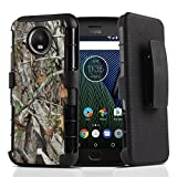 Best customerfirst Rugged Smartphones - Moto G5S Plus Case Hybrid Heavy Duty Dual Review