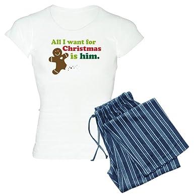 4de301b07c3 CafePress - Couples Funny Christmas - Womens Novelty Cotton Pajama Set