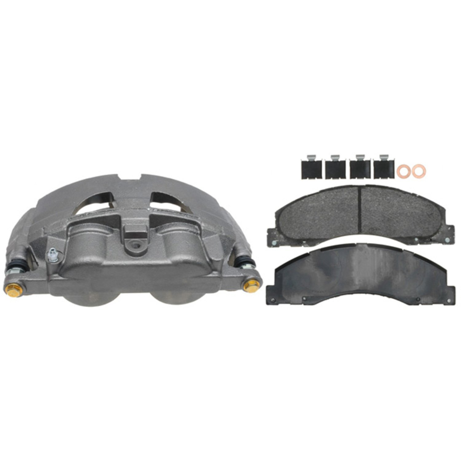 ACDelco 18R2665SV Specialty Front Disc Brake Caliper Assembly with Performance Fleet//Police Pads Remanufactured Loaded