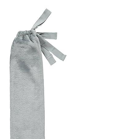 1,5 l Bezug aus japanischer Baumwolle YuYu Lange W/ärmflasche mit revolution/ärem Riemen Waffelstruktur 81 cm lang