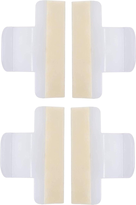4 pcs 154701001 Dishwasher Splash Shield Replacement Part for Frigidaire Kenmore Dishwasher - Replaces 1465007 154685101 AP4338941