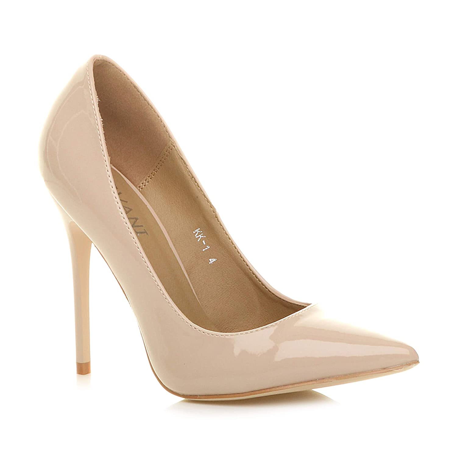 a0d3c470711c7 Ajvani Womens Ladies high Heel Pointed Contrast Court Smart Party Work  Shoes Pumps Size: Amazon.co.uk: Shoes & Bags