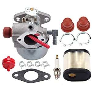 Venseri 640271 640303 640350 Carburetor for Tecumseh LEV100 LEV105 LEV120 LV195EA LV195XA Toro 20016 20017 20018 6.75HP Recycler Lawn Mower Lawn with Air Filter