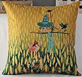 2016 New Style Animal Fish Cartoon Pillowcase,1818 Inches,The Wizard Of Oz Corn