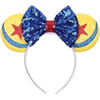 YanJie Halloween Sequin Mouse Ears - Glitter Hair Accessories Party Favor Decoration Cosplay Costume for Children & Adults