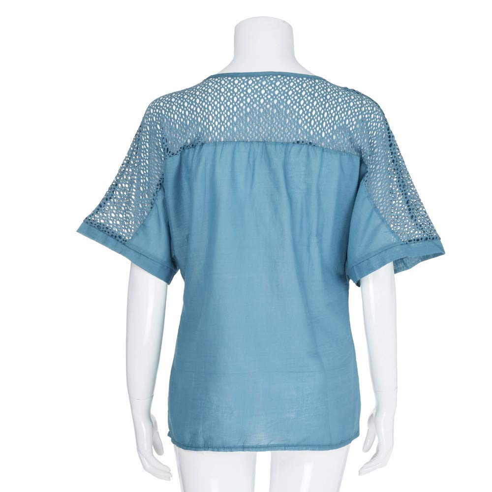 KUDICO Tank Top Damen /ärmellose T-Shirt Sommer Blumen Rundhalsausschnitt Weste Basic Lose Bluse Freizeithemd Tunika Oberteile