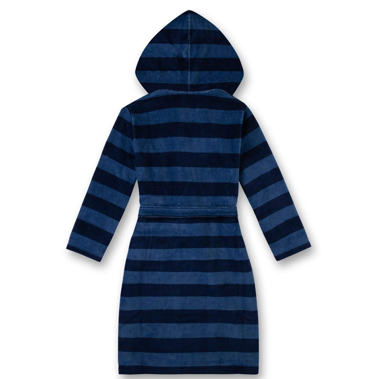 dunkelblau schwarz Sanetta Jungen Bademantel 244457