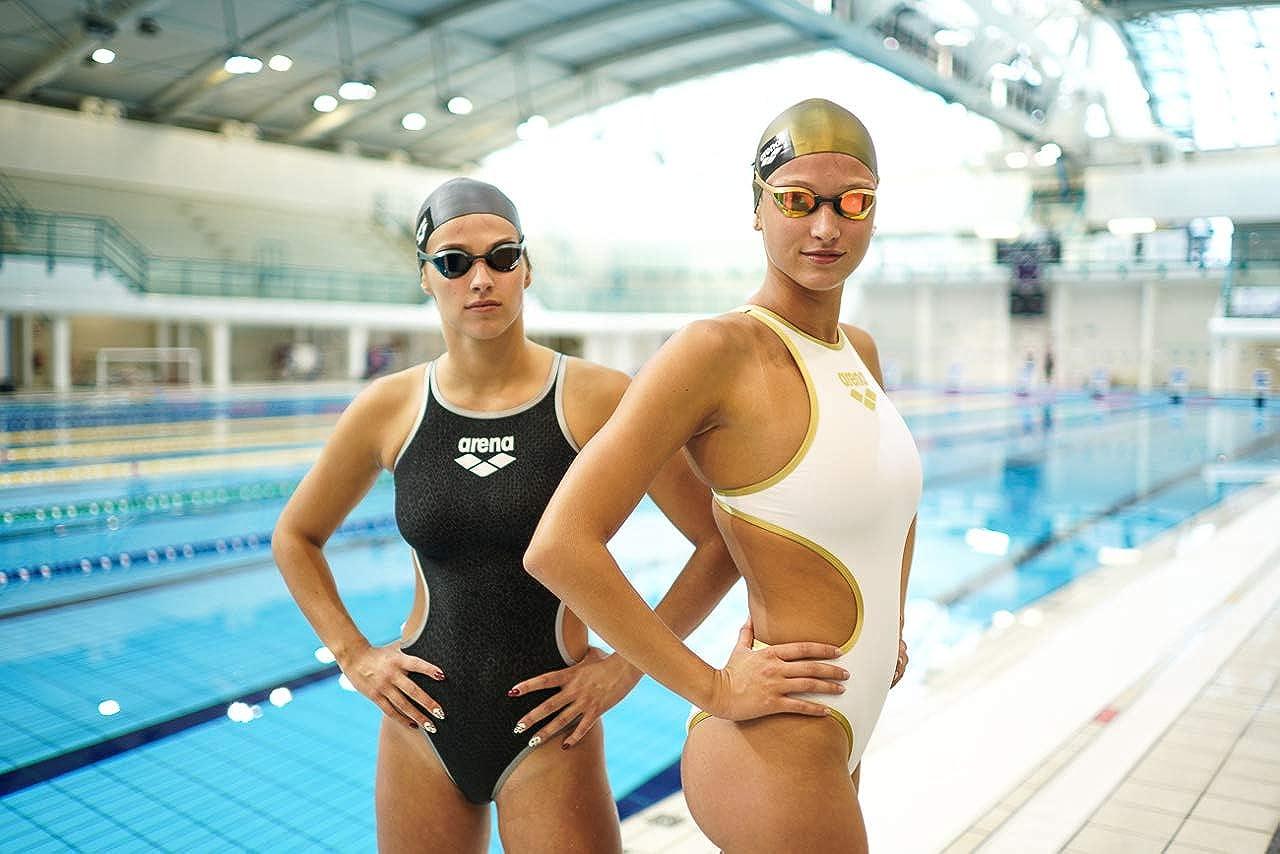 Arena Womens The One Big Logo MaxLife One Piece Swimsuit