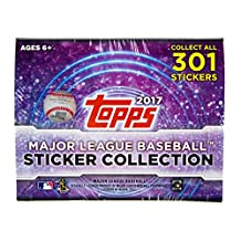 2017 Topps MLB Baseball Stickers Collection Box