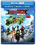 Cover Image for 'LEGO Ninjago Movie, The [Blu-ray 3D + Blu-ray + Digital]'