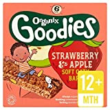 Organix Goodies Strawberry Cereal Bar Stage 4 - 6 x 30g