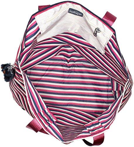 Hip Hurray 5 Cabas Kipling Stripes Sugar Multicolore 4RwHKUBq