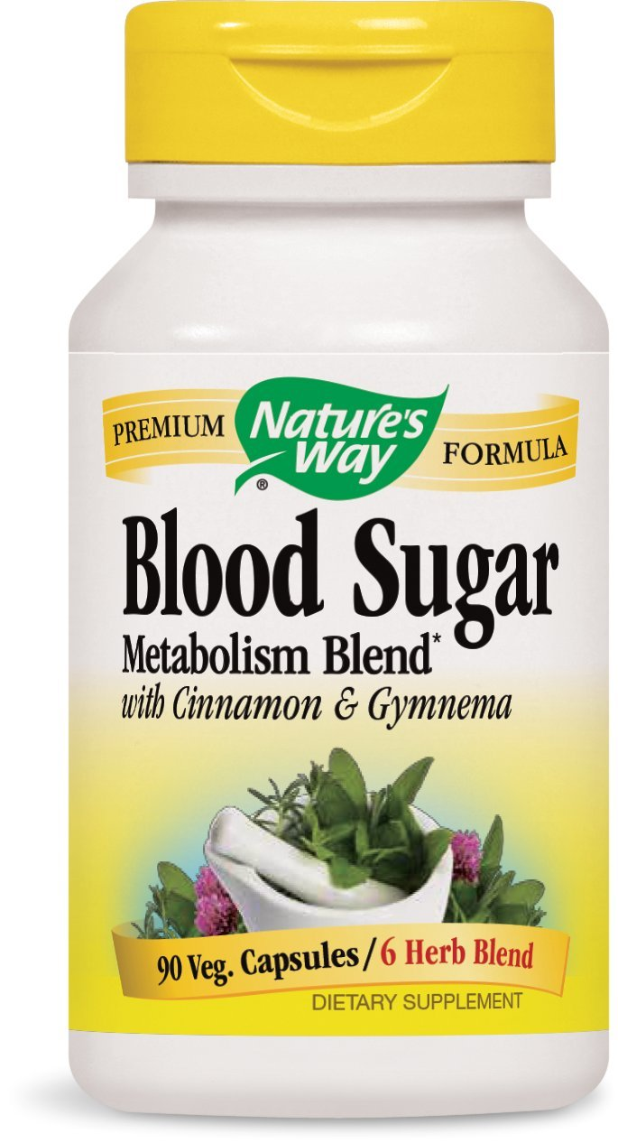 Nature's Way Blood Sugar, 90 Capsules (Pack of 2)
