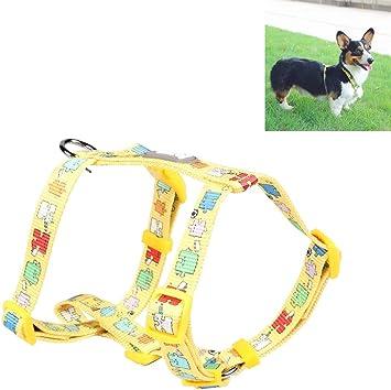 WangLiJiaFDSGB Arnés del perro seguridad chaleco, cinturón de ...