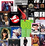 Lot of 10 Amazing 80s Posters For Your Themed Party Decorations