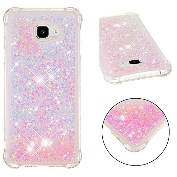new products 81b78 9f0f7 Samsung J4 Plus Case,DAMONDY Liquid Glitter 3D Cute Bling Shock Absorption  Bumper Floating Quicksand Diamond Flowing Shockproof Soft Gel TPU Cover ...