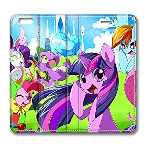 iCustomonline My Little Pony Creative Leather Case for iPhone 6 Plus( 5.5 inch)