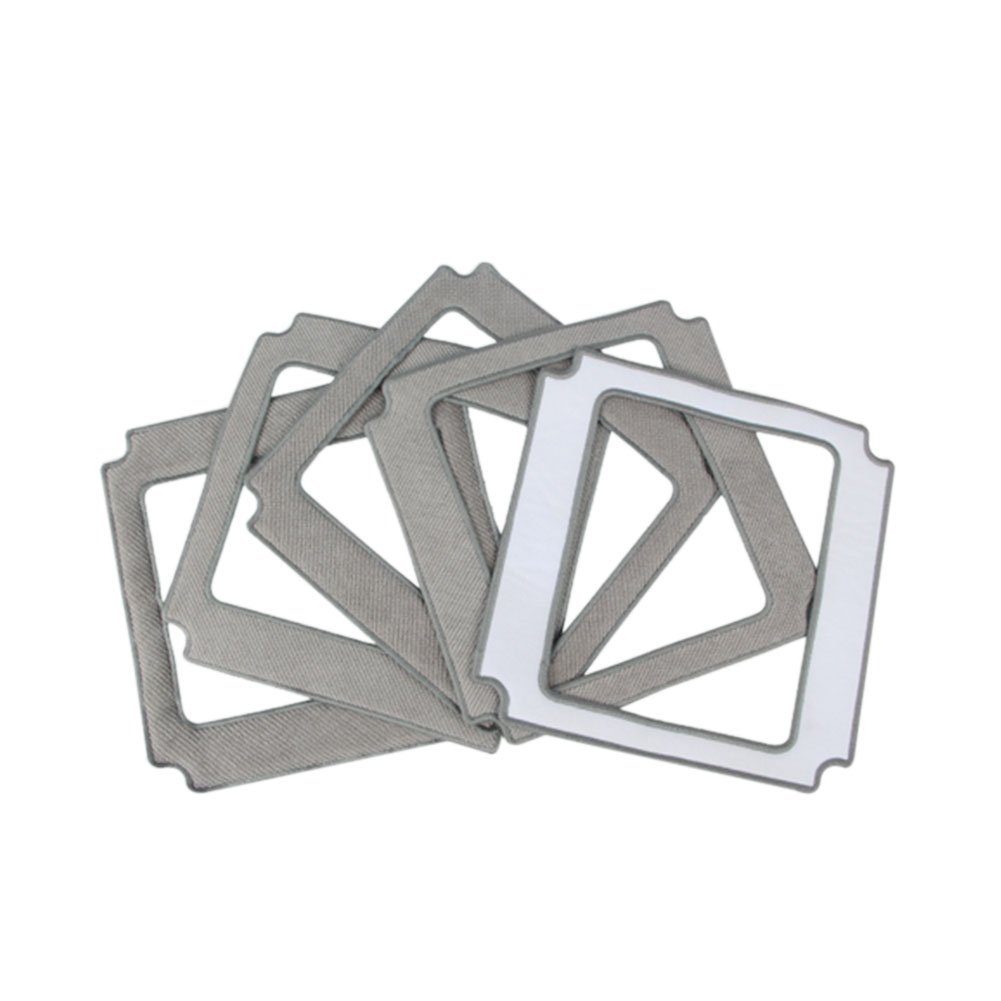 Meijunter 5 Pcs Glass Cleaning Cloths Pads Covers for Ecovacs W830 Window Cleaning Robot Ltd.