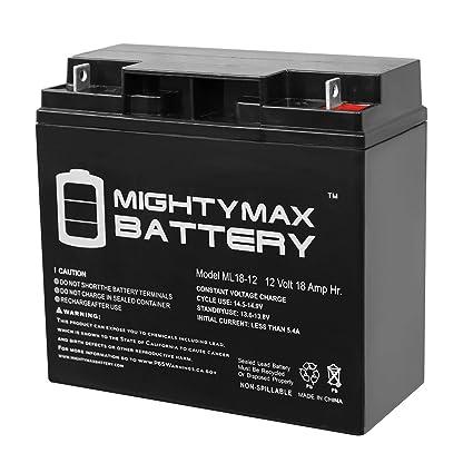 Mighty Max Battery 12V 18AH SLA Battery for Generac 7500 EXL Portable on