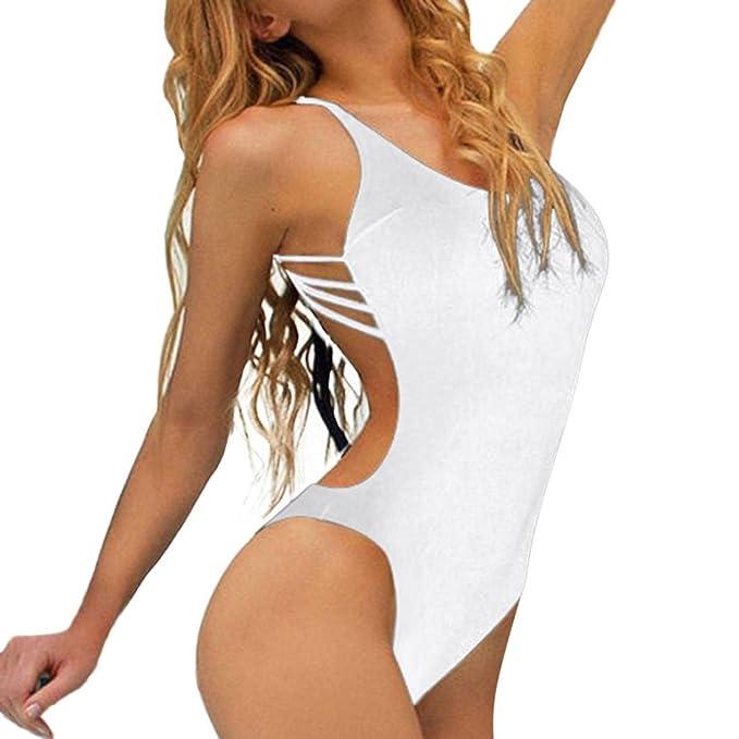 e368b93eb97d YanHoo Costume Intero Costume da Bagno delle Donne Gelatina Monokini Costume  Costumi da Bagno Sexy con