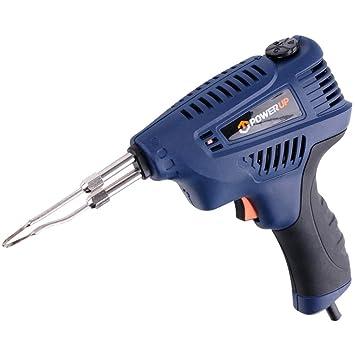 POWER_UP 79353 - pistola de soldar 200w / encendido /: Amazon.es: Bricolaje y herramientas