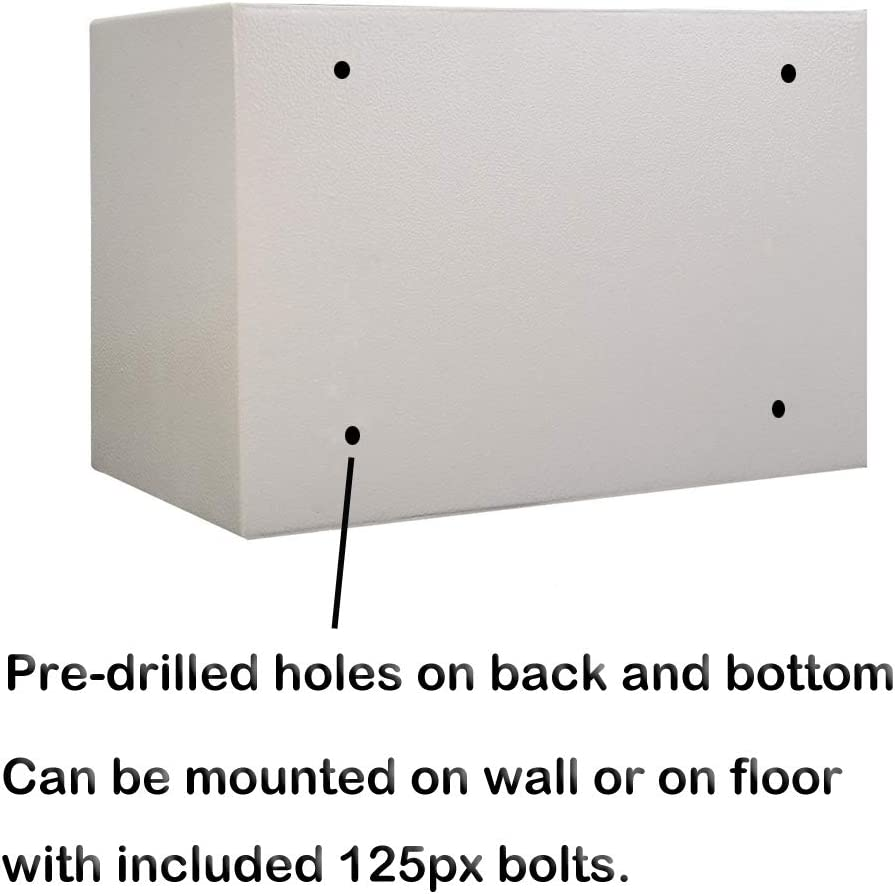 Safes Safety & Security gaixample.org 25 25cm 16L Lock Box with 4 ...