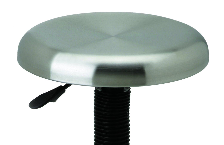 Amazon.com: Seville Classics Stainless Steel Top Work Stool: Kitchen ...