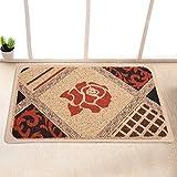 Garden door mat bathroom mat skid-proof mats in the Hall -40*60cm e