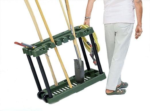 Support en plastique de jardin - Pour outils jardin le ...