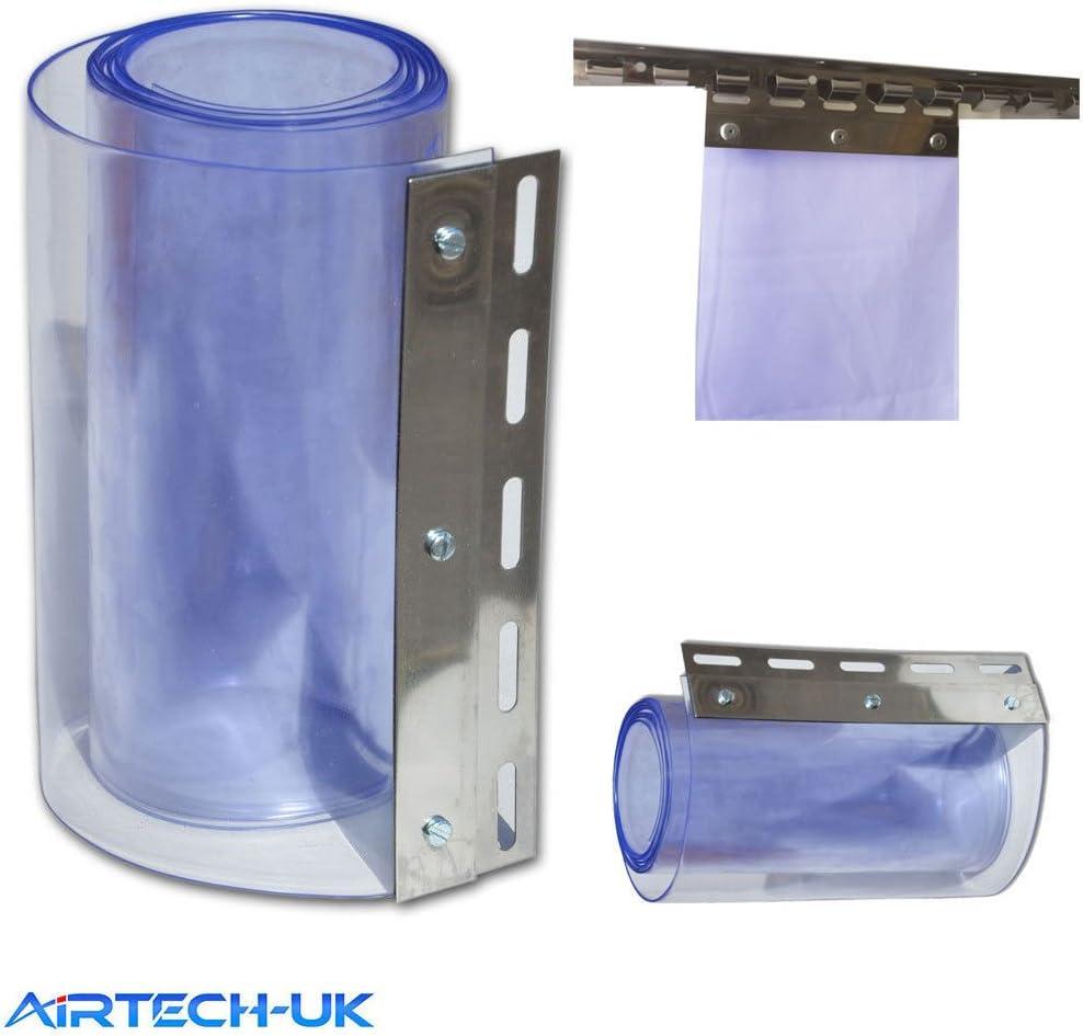 Cortina de tira Airtech para la puerta del congelador, 1 m x 2 m ...