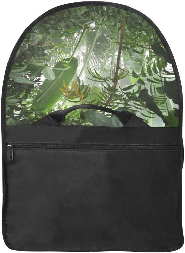 Vintage Satchel Handbag  Primeval Jungle Multi-Functional Laptop Bag for Girls Fit for 15 Inch Computer Notebook MacBook