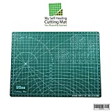 "My Self Healing Cutting Mat – Brilliant 12"" x 18"" Thick Mat with Self-Healing Compound 