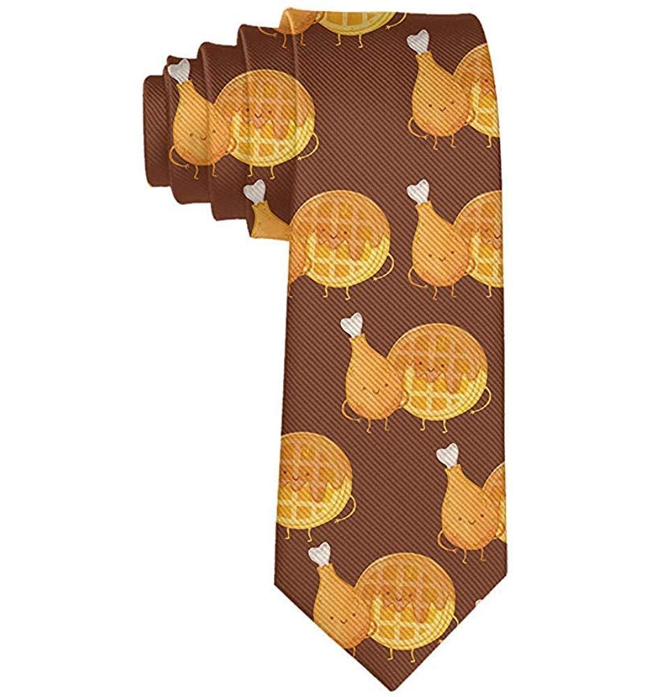 Cravatta cravatta da uomo in cialda di pollo cravatta in seta ...