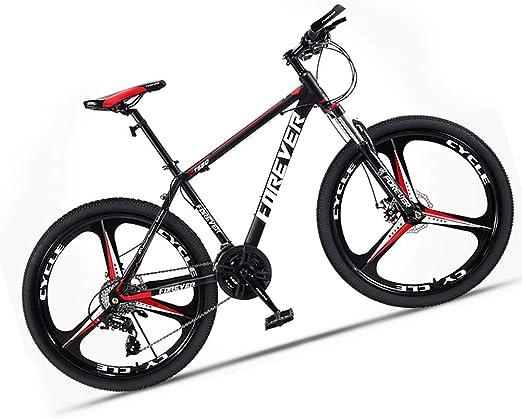 Bicicleta montaña Adulto Hombre de Acero de Alto Carbono Velocidad ...