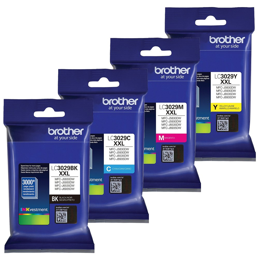 Brother LC3029 Extra High Yield Ink Cartridge Set