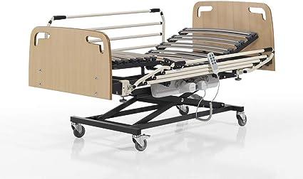 SANTINO Camas Articuladas Geriátrica de Hospital con Carro ...