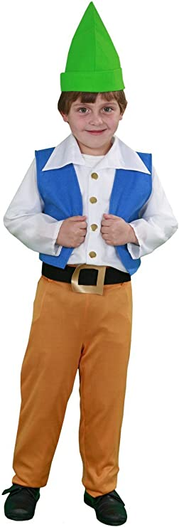 Disfraz de Enanito 5-6 años: Amazon.es: Juguetes y juegos