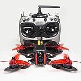 "ARRIS X220 V2 220MM 5"" FPV Racing Drone RC Quadcopter RTF w/Radiolink AT9S + Omnibus F4 Flight Controller + Foxeer Camera + 4"