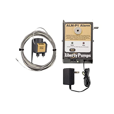 Liberty Pumps ALM-P1 Indoor High Liquid Level Alarm with Probe Sensor