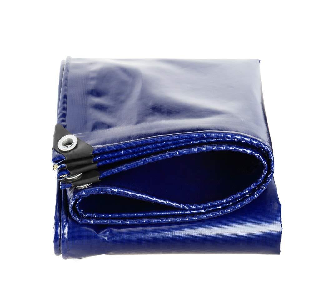 アウトドアホームピクニック車キャンプ用防水ポンチョ厚いブルーのターポリン (サイズ さいず : 3 * 4m) 3*4m  B07JKCPNKP