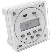 heschen Digital LCD de alimentación semanal temporizador programable