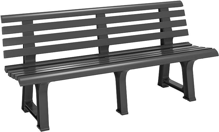 amazon plastic garden bench