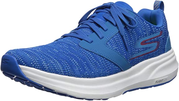 Skechers Performance Men's Go Ride 7 Running Shoe,charcoal/blue,7 M US