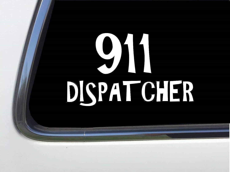 ThatLilCabin - 911 Dispatcher 8 HM413 car sticker decal